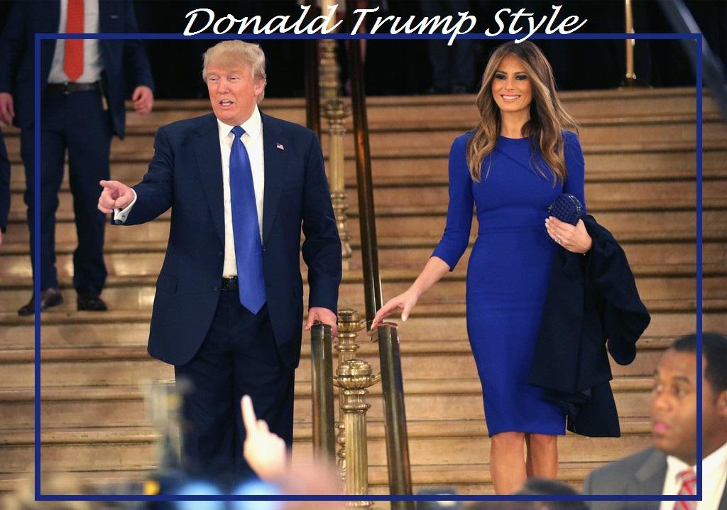 Donald Trump, Melania Trump, Image consultant, Style, USA, president, Silk Gift Milan, Artist Image Management, personal shopper