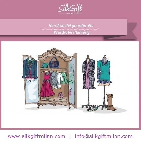 riordino guardaroba, consulente d'immagine, silk gift milan, personal shopper, made in italy, stile, artist image management
