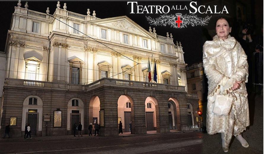 teatro alla scala, abbigliamento donna, personal shopper, consulente d'immagine, silk gift milan, milano, prima alla scala