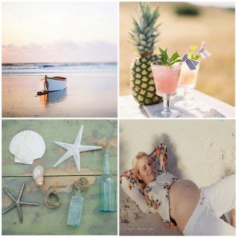 Baby Shower Party on the beach!