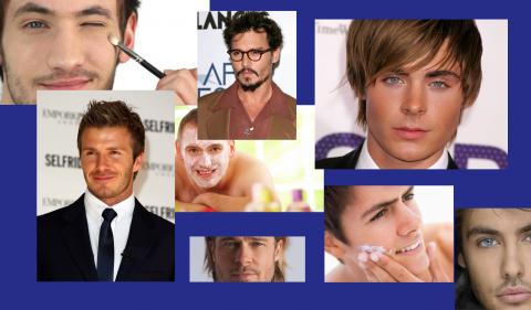 Make –up, anche l'uomo ama mettere la faccia migliore davanti la propria immagine.