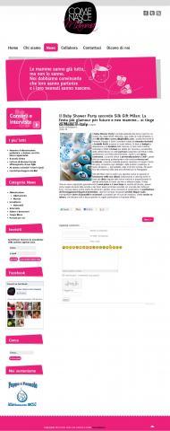 Il Baby Shower Party secondo Silk Gift Milan: La festa più glamour per future e neo mamme… si tinge di Made in Italy