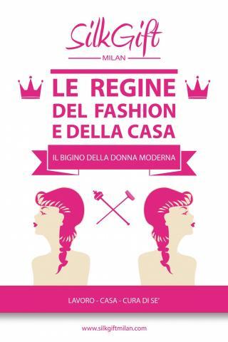 """""""Le regine del fashion e della casa"""", il primo ebook di Silk Gift Milan"""
