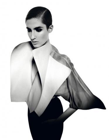 Ferrè, lmostra, camicia bianca, fashion, silk gift milan